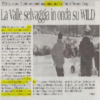 Riprese per programma Wild 2012